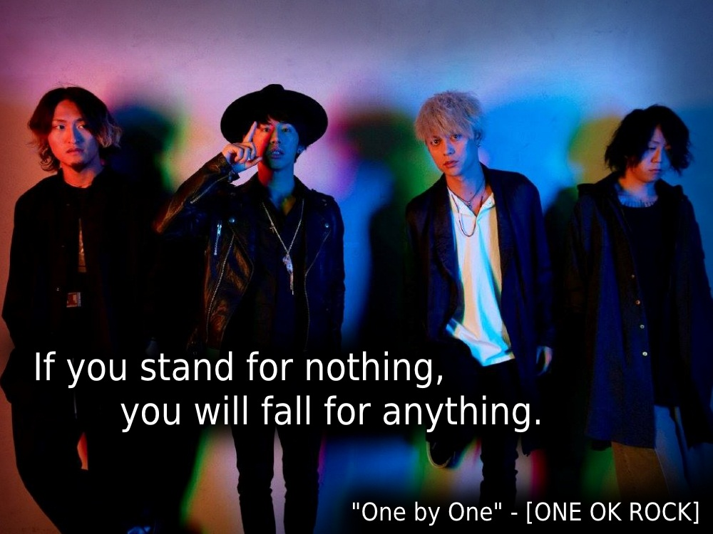 "#83 – ""One by One"" – [ONE OK ROCK]"